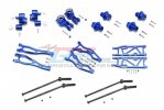 ARRMA KRATON 6S BLX Monster Truck Aluminum F Upper+Lower Arms, R Lower Arms, F+R Knuckle Arms, CVD, 13mm Hex - 56pc set - GPM MAK456212213