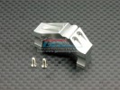 Associated RC 18T Alloy Servo Mount With Heat Sink & Screws - 1pc set - GPM AR024