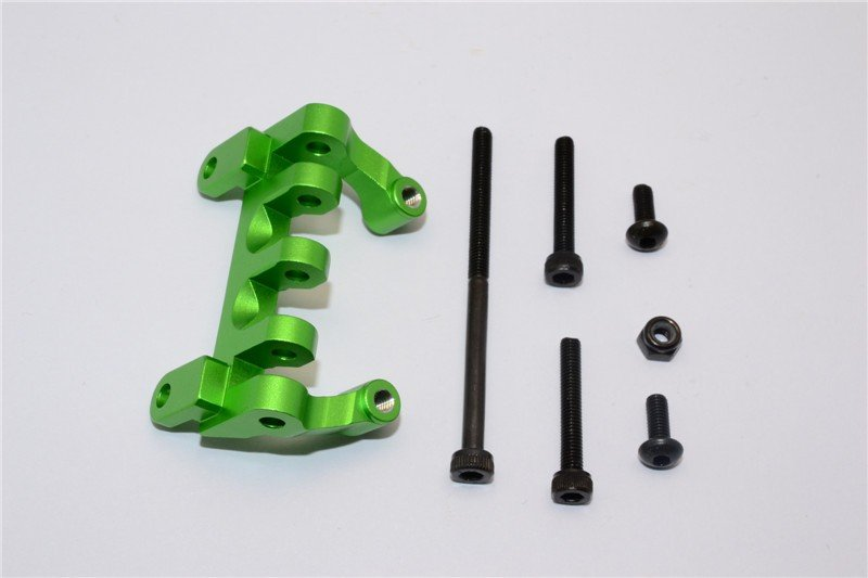 Axial Racing SCX10 Alloy Upper Center Link Mount - 1pc - GPM SCX013A