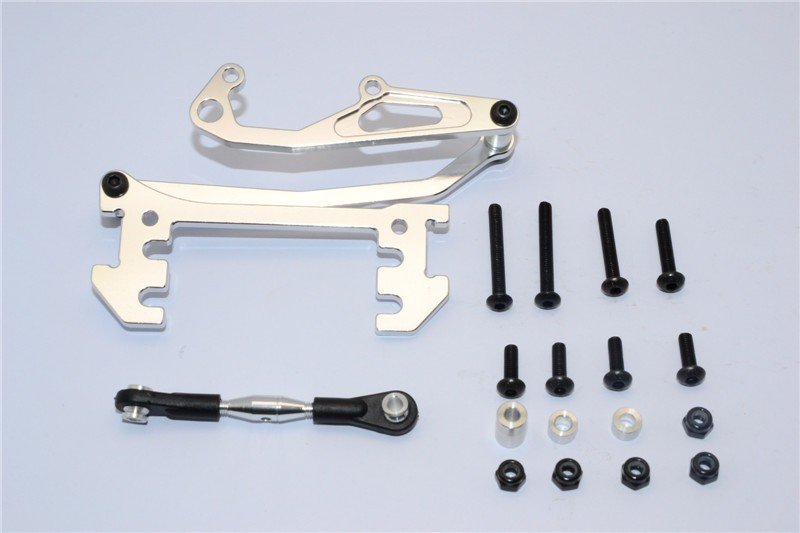 Axial Racing SCX10 Alloy Servo Mount With Panhard Bar - 1set - GPM SCX024A