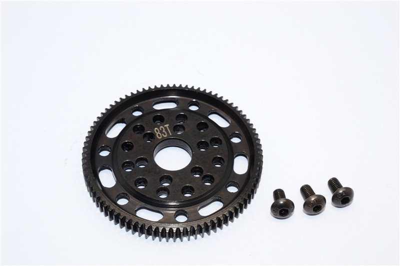 Axial Racing SCX10 Steel#45 Spur Gear 48 Pitch 83T - 1pc set (For SCX10, Wraith) - GPM SSCX083T