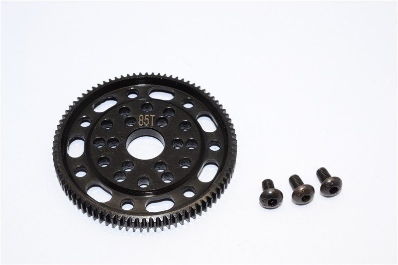 Axial Racing SCX10 Steel#45 Spur Gear 48 Pitch 85T - 1pc set (For SCX10, Wraith) - GPM SSCX085T