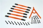 Axial Racing SCX10 Aluminium Adjustable Link Parts With Mount For 308mm Wheelbase - 7pcs set - GPM SCX15049/308