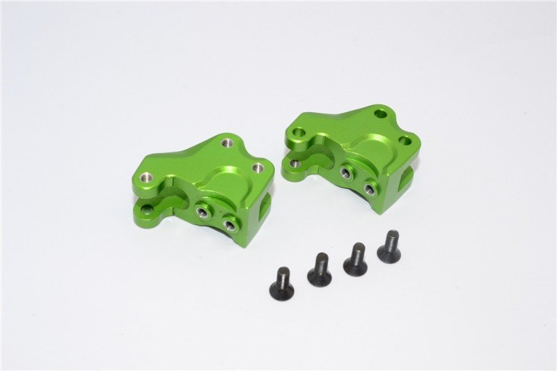 Axial Racing RR10 Bomber Aluminium Front/Rear Gear Box Components - 1pr set (For RR10 Bomber / Wraith) (AX31317 ) - GPM RR008
