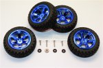 AXIAL Racing YETI JR Aluminium 6 Poles Wheels Tire 4Pcs Set - GPM MYT88906/4