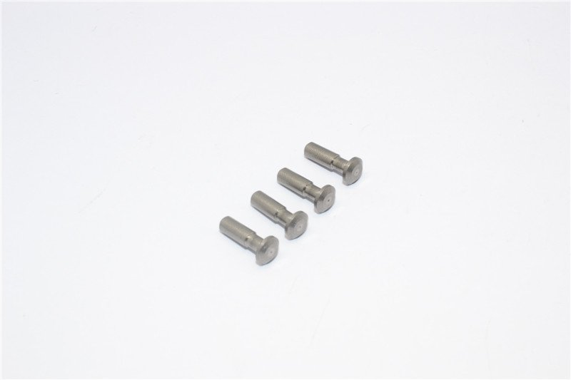 Axial Racing Yeti Aluminium Steel King Pin For Front Knuckle(AX30382) - 4pcs - GPM YT004S
