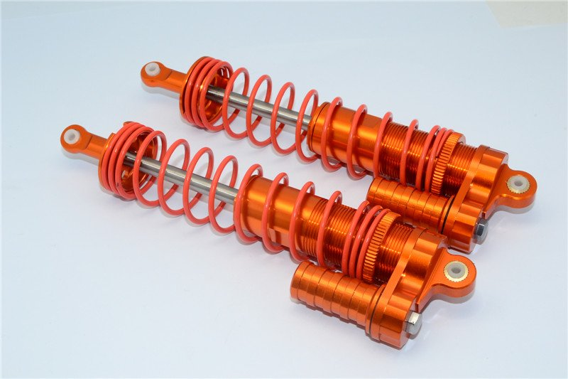 Axial Racing Yeti XL Aluminium Front/Rear Adjustable L-shape Damper (150mm) With 6mm Steel Shaft - 1pr - GPM YTL150F/R/L