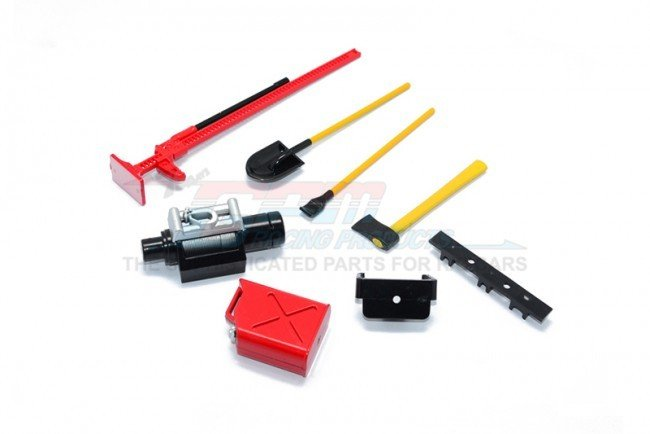 Plastic Tool set For Crawlers - 7pc set - GPM ZSP008