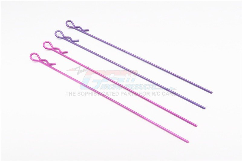 Extend Long Body Clip set (Stick LenGTh 120mm)(Mixed Color) - 4pcs - GPM AC005ML