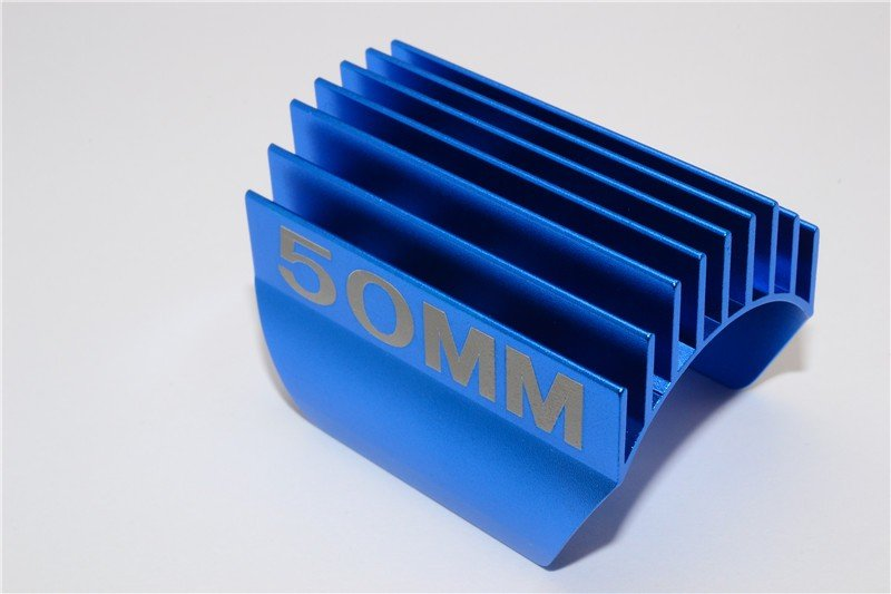 Aluminium Motor Heat Sink Mount 50mm For 1/10 05, 540, 360 Motor- 1pc - GPM GP50