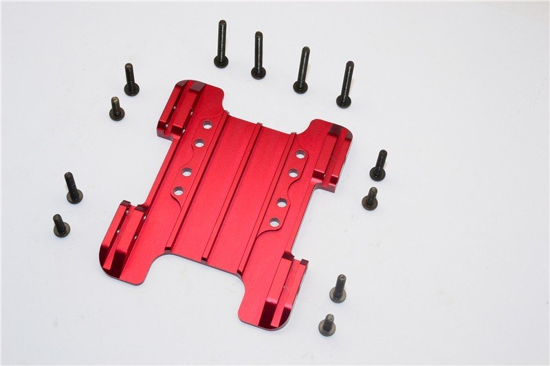 Gmade 1/10 R1 Rock Buggy Aluminium Center Skid Plate - 1pc set - GPM GM038M
