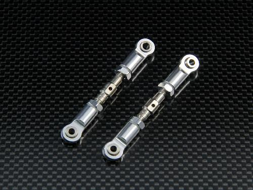 for HPI Mini Savage XS Flux Alloy Front//Rear Upper Arm Steel Tie Rod