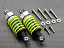 HPI Sprint Plastic Ball Top Damper (55mm) With 1.5mm Coil Spring & Washers & Screws - 1pr set - GPM ADP055