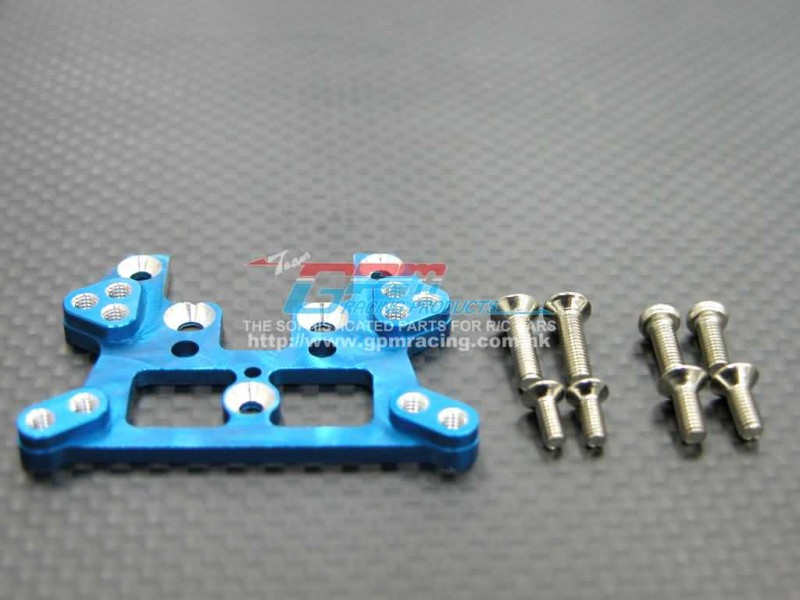 Kyosho Mini Inferno ST Alloy Rear Damper Tower With Screws - 1pc set - GPM MIF2030