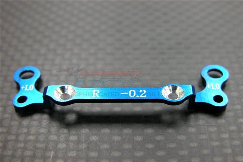 Kyosho Mini-Z AWD Alloy Rear Knuckle Arm Holder (Toe Out -0.2mm, Thick 1.0mm) - 1pc GPM Design - GPM MZA031R-0210