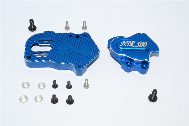 Kyosho Motor Cycle Aluminium Gear Box (New Design Suitable For Modified Gear Ratio) - 1set - GPM KM012N