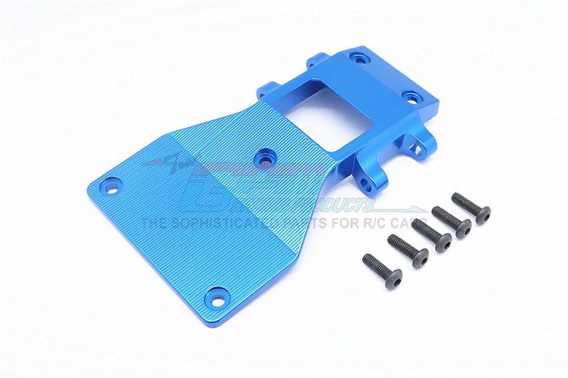 Tamiya CC01 Alloy Front Lower Arm Plate - 1pc - GPM CC054M
