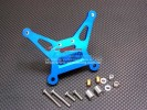 Tamiya DF-02 Alloy Rear Shock Tower With Alloy & Bronze Collars & 3mm Lock Nuts & Screws - 1pc set - GPM DF2030
