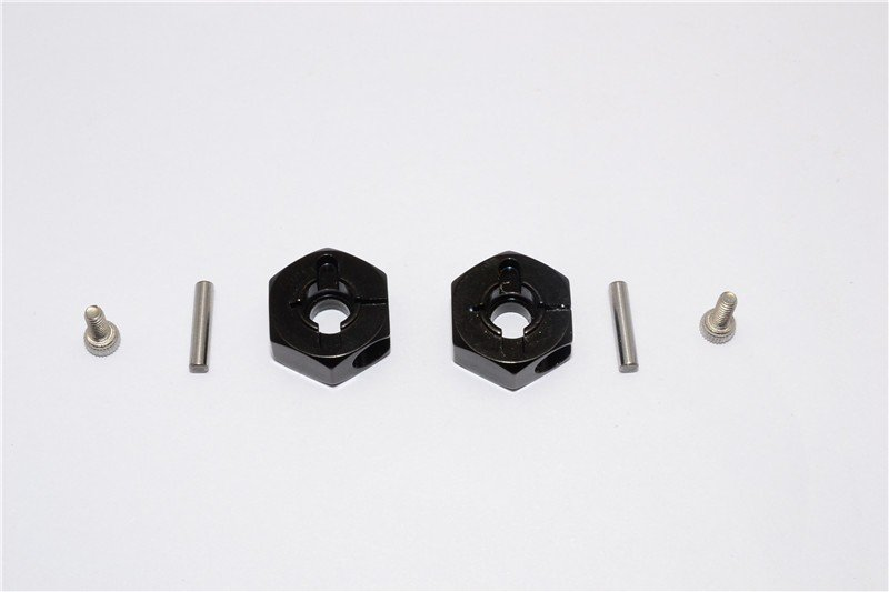 Tamiya DT03 Aluminium Rear Wheel Hex Adapter - 2pcs set - GPM DT3010R