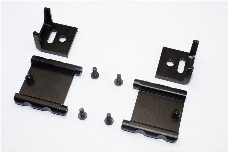 Tamiya MF01X Aluminium Battery Holder (134mm) - 1set - GPM MF0126M