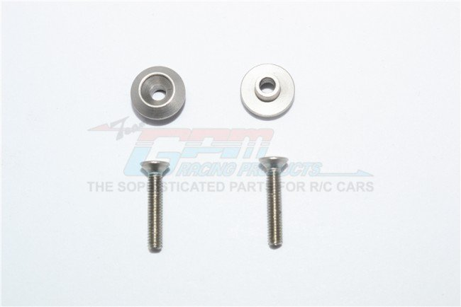 TAMIYA T3-01 DANCING RIDER Rear Wheel Sst-screw With Anti-rattle Washer - 4pc set - GPM T3050R/SM