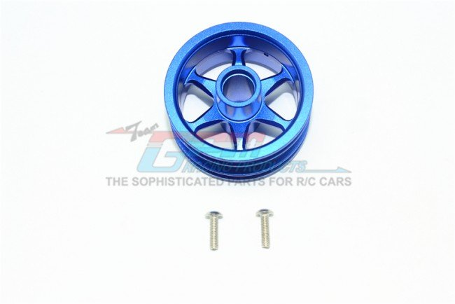 TAMIYA T3-01 DANCING RIDER Aluminium Front Wheel (6 Poles Design) - 3pc set - GPM T3060F