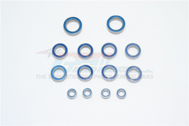 TAMIYA T3-01 DANCING RIDER Bearings For Full Vehicle - 14pc set - GPM T3BEARING