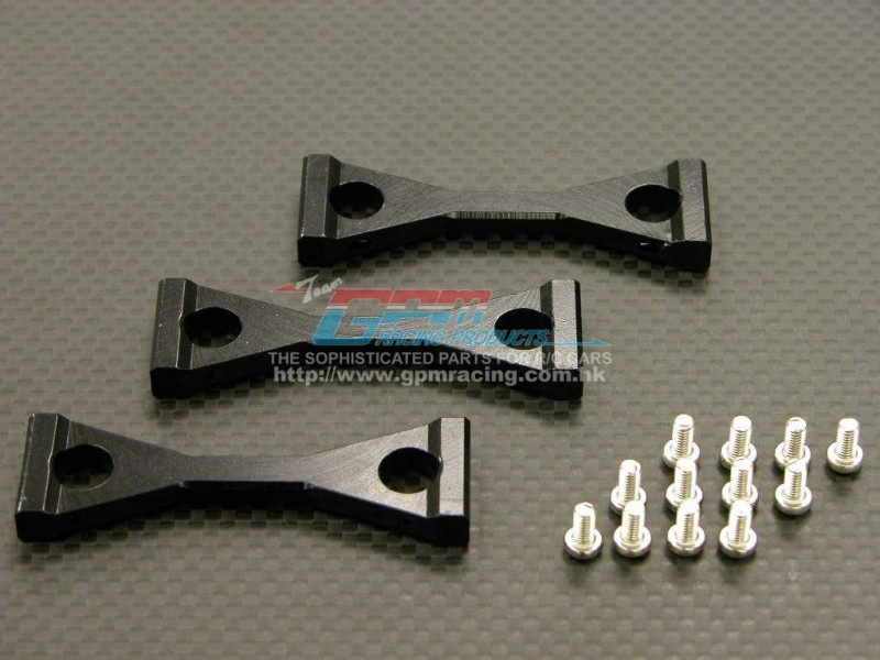 Tamiya 1/14 Truck King Hauler /Globe Liner /Ford Aeromax Alloy Middle Chassis Mount With Screws - 3pcs set - GPM TRU009