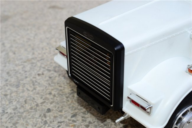 Tractor Grill Guard For Trailer : Tamiya tractor truck aluminium front mask grill guard for