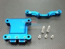 Tamiya TT01 Alloy Front Damper Plate With Gear Box & Screws - GPM TT028