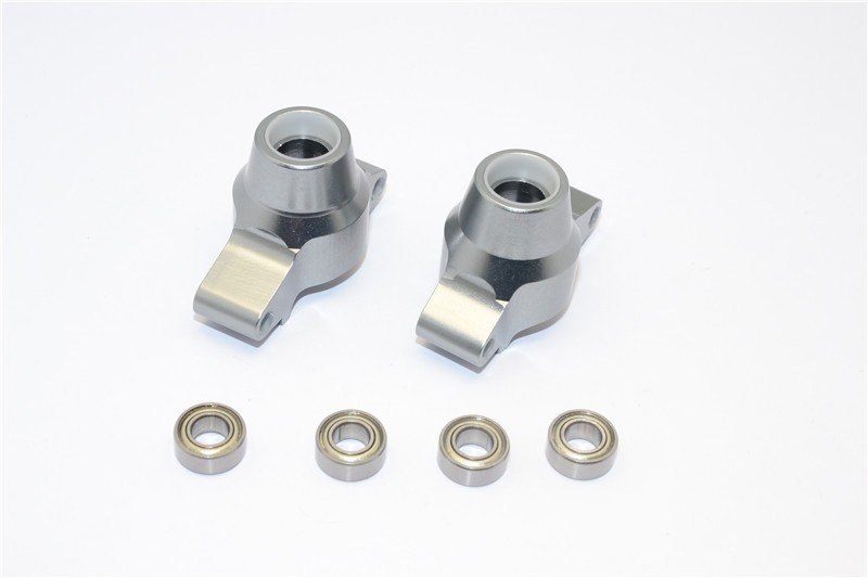 Tamiya TT02 Alloy Rear Knuckle Arm With Bearing - 1pr set - GPM TT2022B