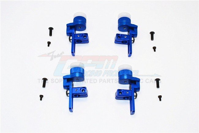 TAMIYA TT02 Aluminium Front & Rear Body Post Mount With 12mm Magnet - 4pcs set - GPM TT2T201FR