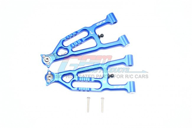 Team Losi BAJA REY Aluminum Front Lower Suspension Arm - 4pc set - GPM BR055