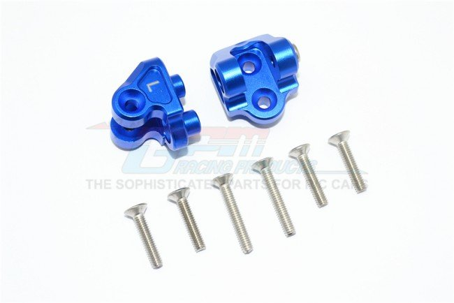 Team Losi SUPER BAJA REY Aluminum Rear Upper AXLE Mount set For Rear Suspension Links - 8pc set - GPM SB008