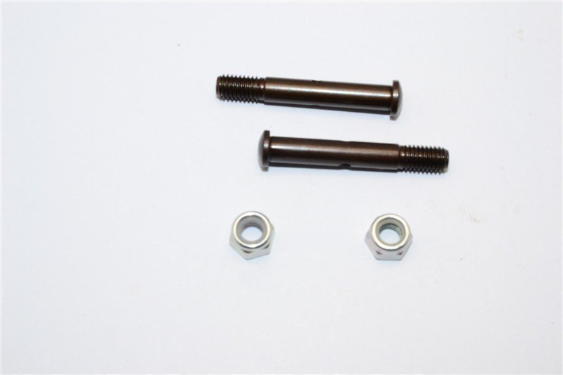 TRAXXAS 1/10 Craniac Monster Truck Spring Steel Front Wheel Shaft - 1pr - GPM CRA005S