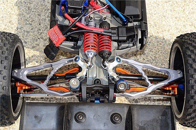 Aluminium Rear Upper Suspension Arm - 1pr set (For E-REVO ...