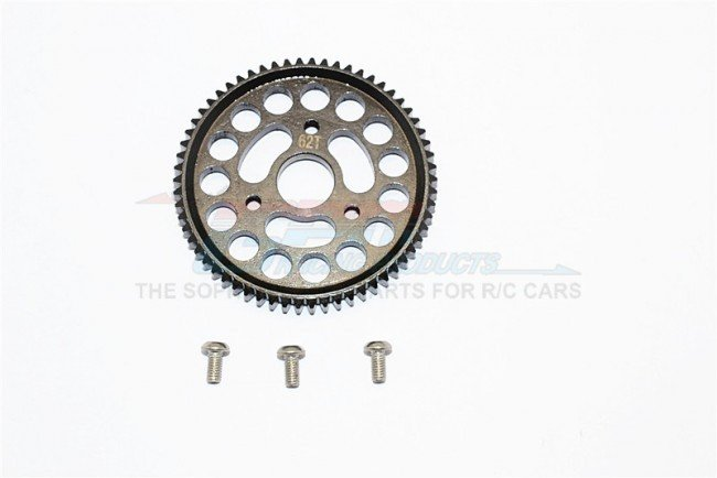 TRAXXAS 1:10 E-REVO Steel Spur Gear (62T) - 1pc set - GPM ER062TS