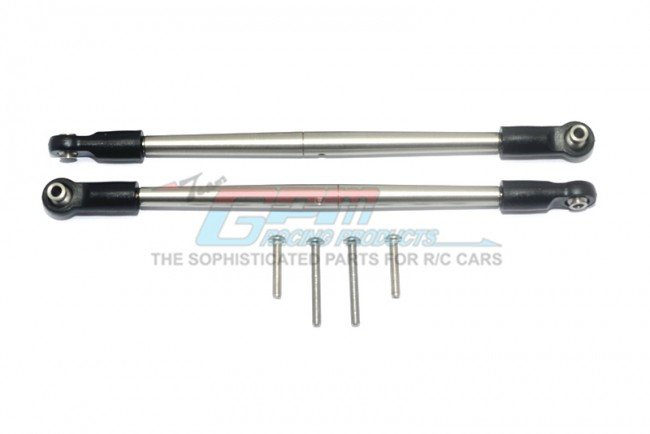TRAXXAS E-REVO VXL Stainless Steel 304 Front/Rear Turnbuckle For Steering - 6pc set - GPM ER2162S/2