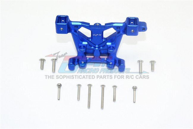 TRAXXAS 1/10 E-REVO VXL Aluminum Rear Body Post Mount - 11pc set - GPM ER2031