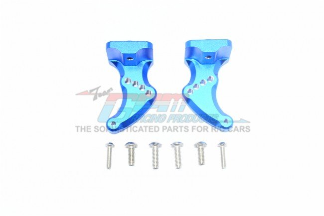 TRAXXAS 1/10 E-REVO VXL Aluminum Rear Wing Mount - 8pc set - GPM ER2040RA