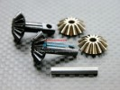 TRAXXAS Jato Hard Steel Gear set For Differential Assembly With Pins - 4pcs set - GPM STJA1200
