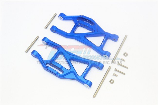 TRAXXAS MAXX MONSTER TRUCK Aluminium Front / Rear Lower Arms - 14pc set - GPM TXMS055F/R