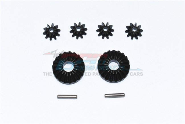 TRAXXAS MAXX MONSTER TRUCK Harden Steel #45 Front/Center/Rear Differential Gear - 8pc set - GPM TXMS1201S