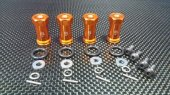 TRAXXAS 1:16 Mini E-REVO Alloy Hex Adaptor (+20mm) - 4pcs set - GPM ERV010/+20MM