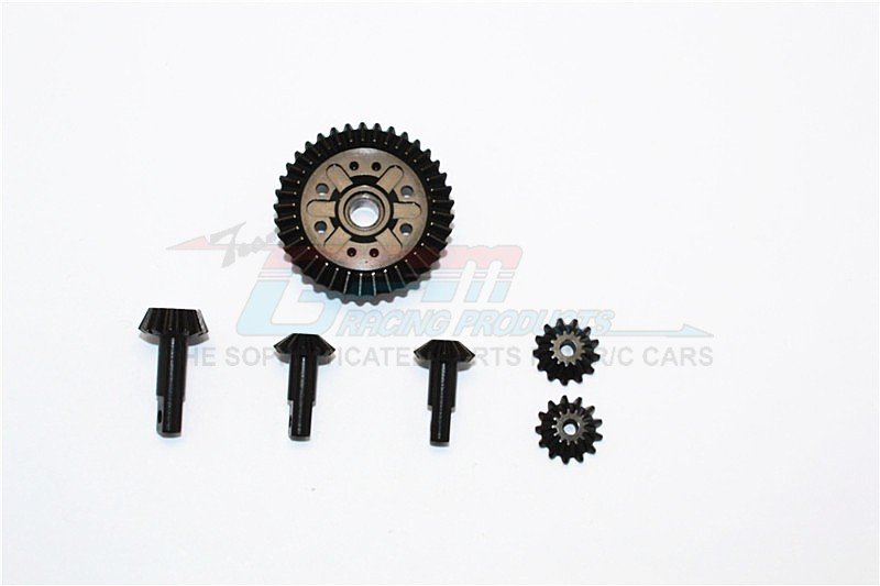TRAXXAS Revo /Revo3.3 Hard Steel Gear set For Differential Assembly - 6pcs - GPM STRV1202
