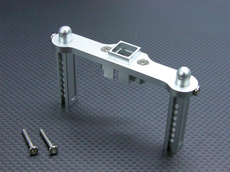 TRAXXAS Revo /Revo 3.3 / E-REVO Alloy Rear Body Post With Screws -1pc set - GPM TRV032