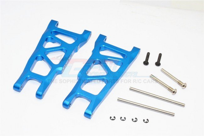 TRAXXAS 1/10 Rustler VXL Alloy Rear Lower Arm - 1pr set (= SLA055) - GPM RUS056