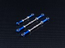 TRAXXAS 1/10 Rustler VXL Steel Turnbuckles With Alloy Ball Ends - 3pcs set - GPM SRUS160
