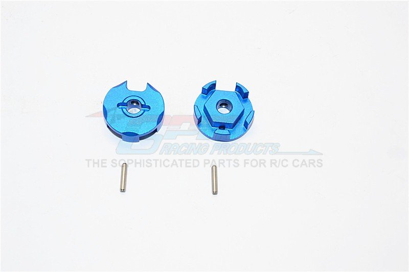 TRAXXAS 1/10 Slash 4x4 Traxxas Aluminium Wheel Hex Claw - 2pcs - GPM SLA006