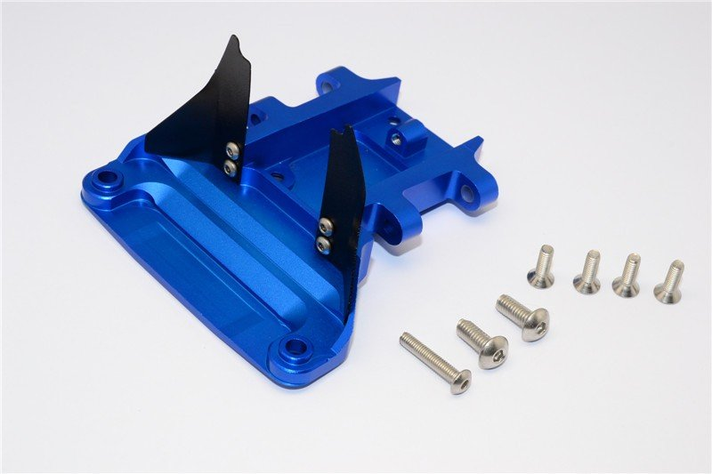 TRAXXAS Slash 4x4 Aluminium Rear Gear Box Protector - 1pc set (For Slash 4x4 Low-cg 68086-21 Version) - GPM SLA331LCG